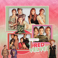 302|Red velvet|Png pack|#12| by happinesspngs