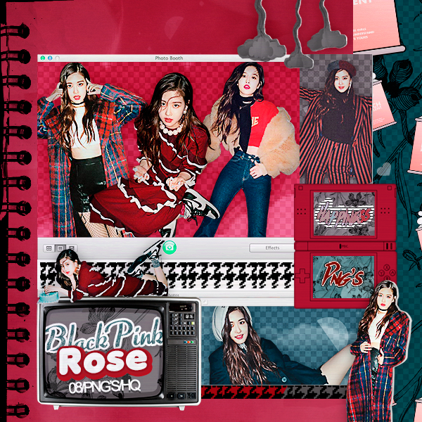 400|ROSE (BLACKPINK)|Png pack|#01| by happinesspngs on