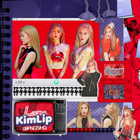 417|Kim Lip (LOONA)|Png pack|#01| by happinesspngs