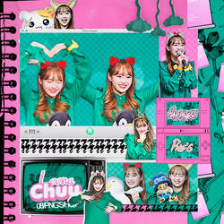 430|Chuu ( Loona)|Png pack|#02| by happinesspngs