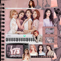 446|Loona 1/3|Png pack|#01| by happinesspngs