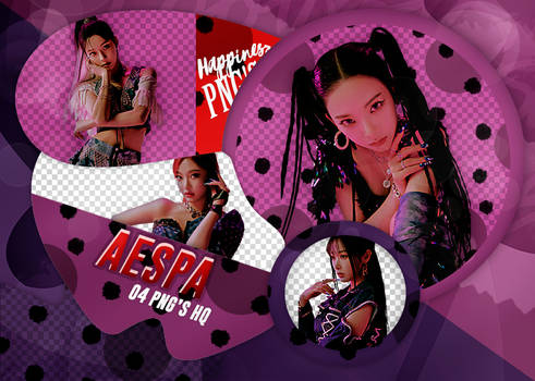 AESPA PNG PACK #503 NEXTLEVEL