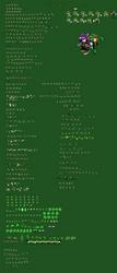 {Ultimate Scourge Sprite Sheet} (FT.Amethia) by PhoenixFireWolf12
