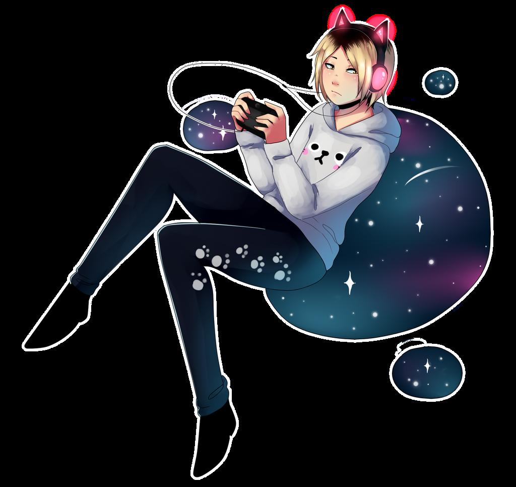 galaxy boy by mudacherry