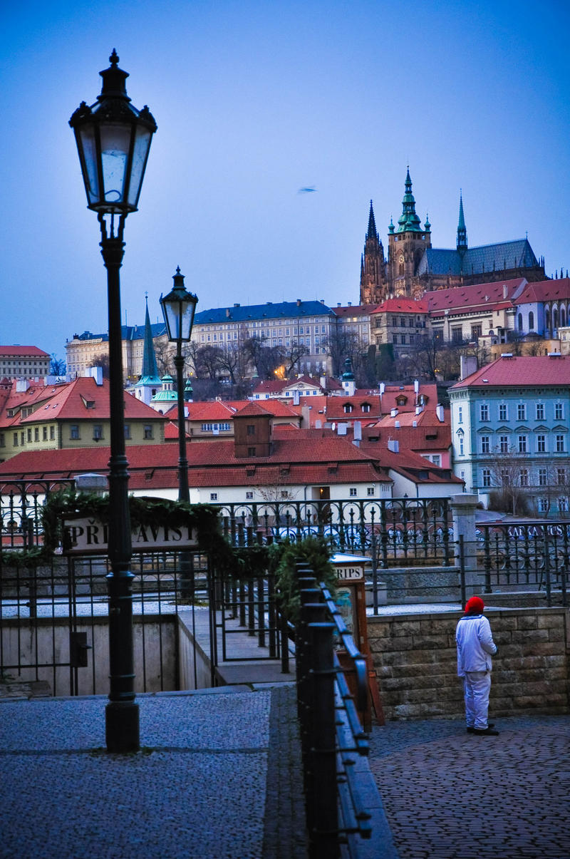 Prague Dusk by dianora
