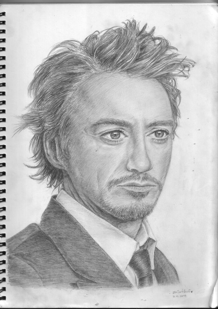 Rdj portrait drawing no 1 by homosaru