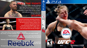 EA Sports UFC 2 Cover PS4