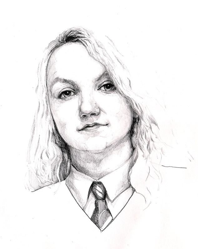 Luna Lovegood by Spiritius on DeviantArt