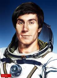 Sergei Krikalyov, cosmonaut by Spiritius