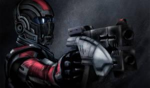 ME: armored Shep
