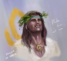 ME: hippy Shep by Spiritius