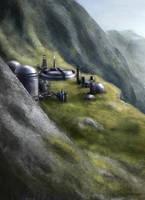 ME: planet base by Spiritius