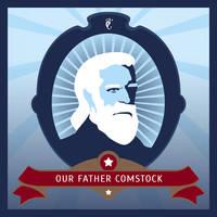 Bioshock Infinite: Prophet Comstock by Spiritius