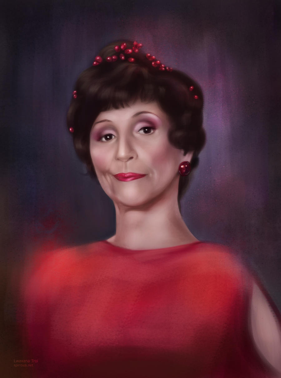 Star Trek: Lwaxana Troi by Spiritius