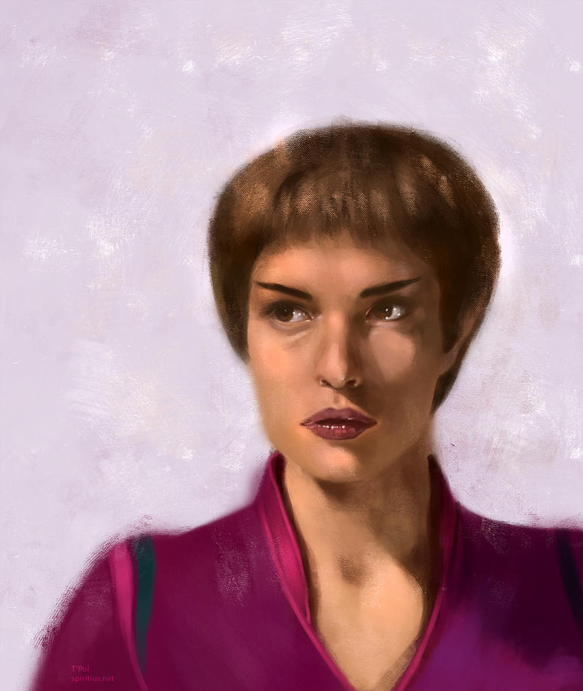 Star Trek: T'Pol by Spiritius