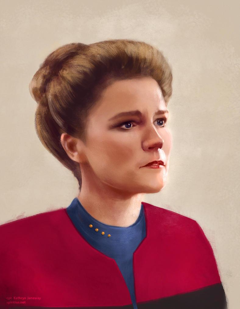 Star Trek: cpt.Janeway by Spiritius