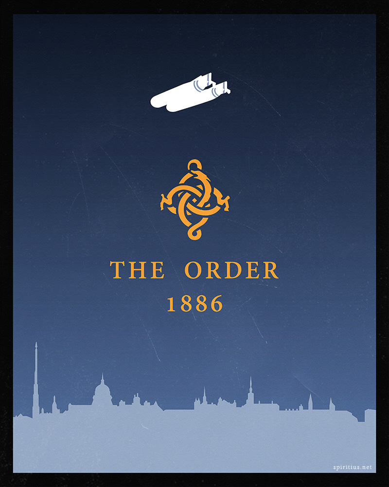 Order 1886: poster by Spiritius