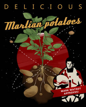 The Martian: Potatoes