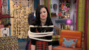 Demi Lovato Tied Up