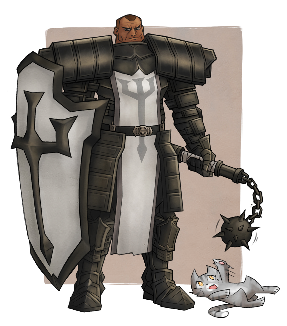 Diablo 3 - Crusader by vincentowo