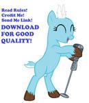 mlp Deer singing #2
