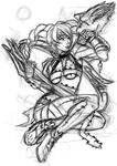 Soul Calibur V - Tira sketch