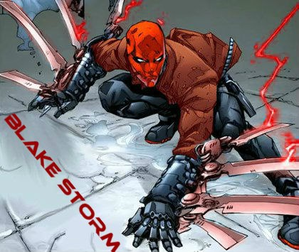 Blake Storm - Red Hood by Firestormblaze