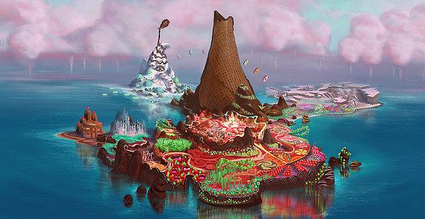 Sugar Rush by WDisneyRP-Vanellope