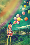 I Want to Fly With Rainbow