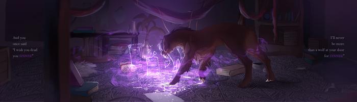 Lyrictober 29: Wolf by Lairai