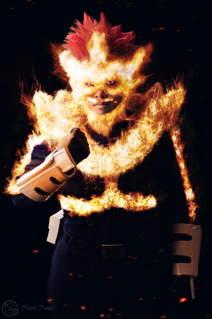 Endeavor - Boku no hero academia Cosplay by kureo110
