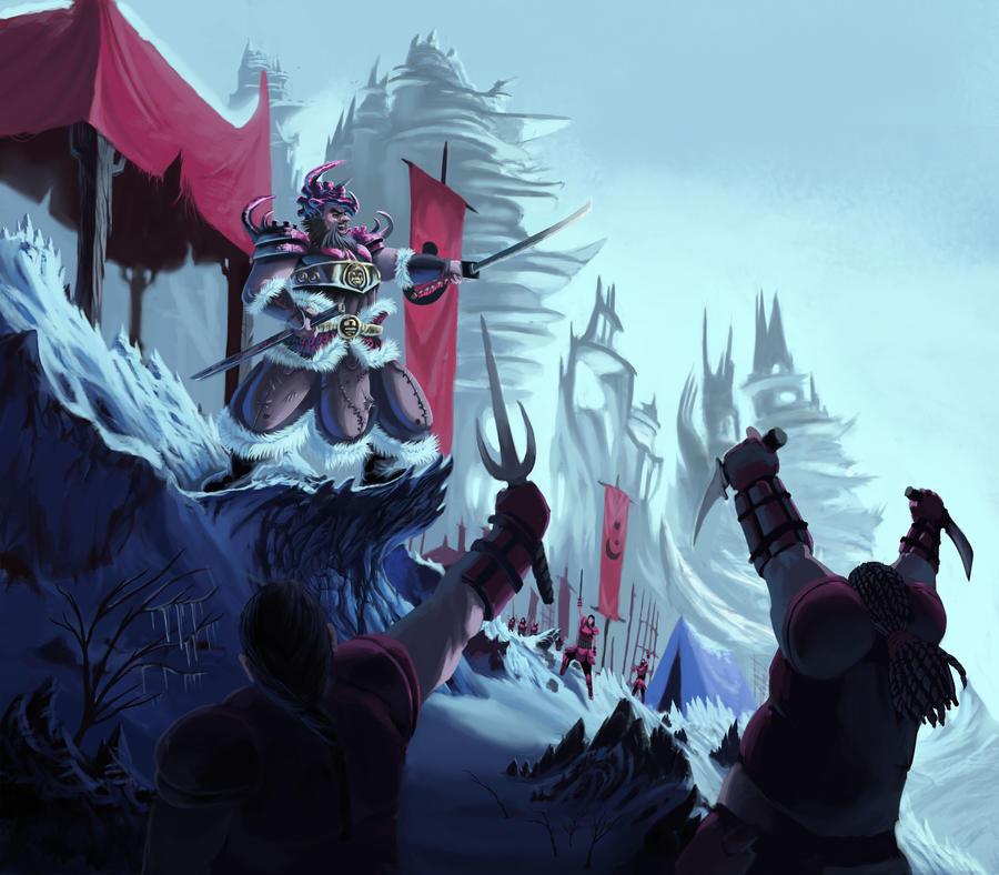 battle kahn a true warrior by trunkssss