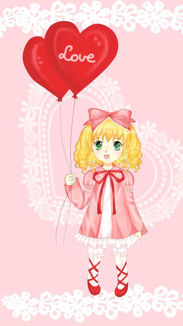 Hinaichigo- Valentine's day 2013 by diami-mi