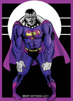 Bizarro Colored by BradMatthews