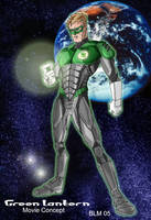 Green Lantern Movie Concept by BradMatthews