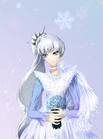 Ice Queen Weiss Schnee by Kamynia
