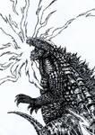 Godzilla old version