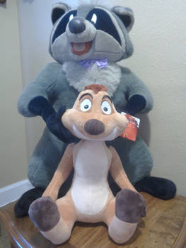 Large Giant plush Timon from the Lion King