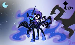 Nightmaremoon and Raven