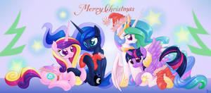Christmas of princesses