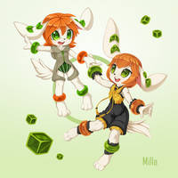 Milla then and now by LordYanYu