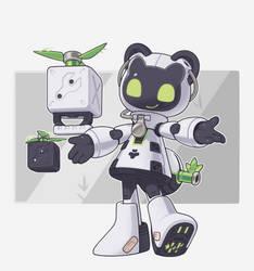 Tangtang the doctor panda