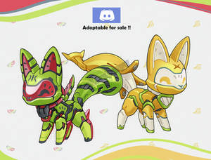 [Adoptable]fruit pets[closed]