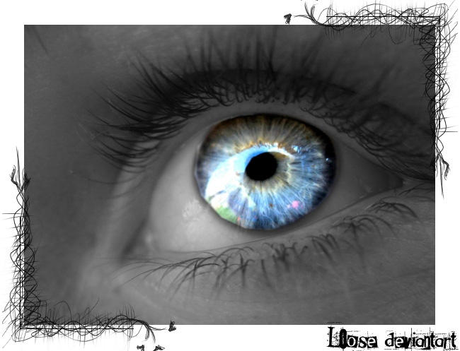 eyes of an angel by l0ose