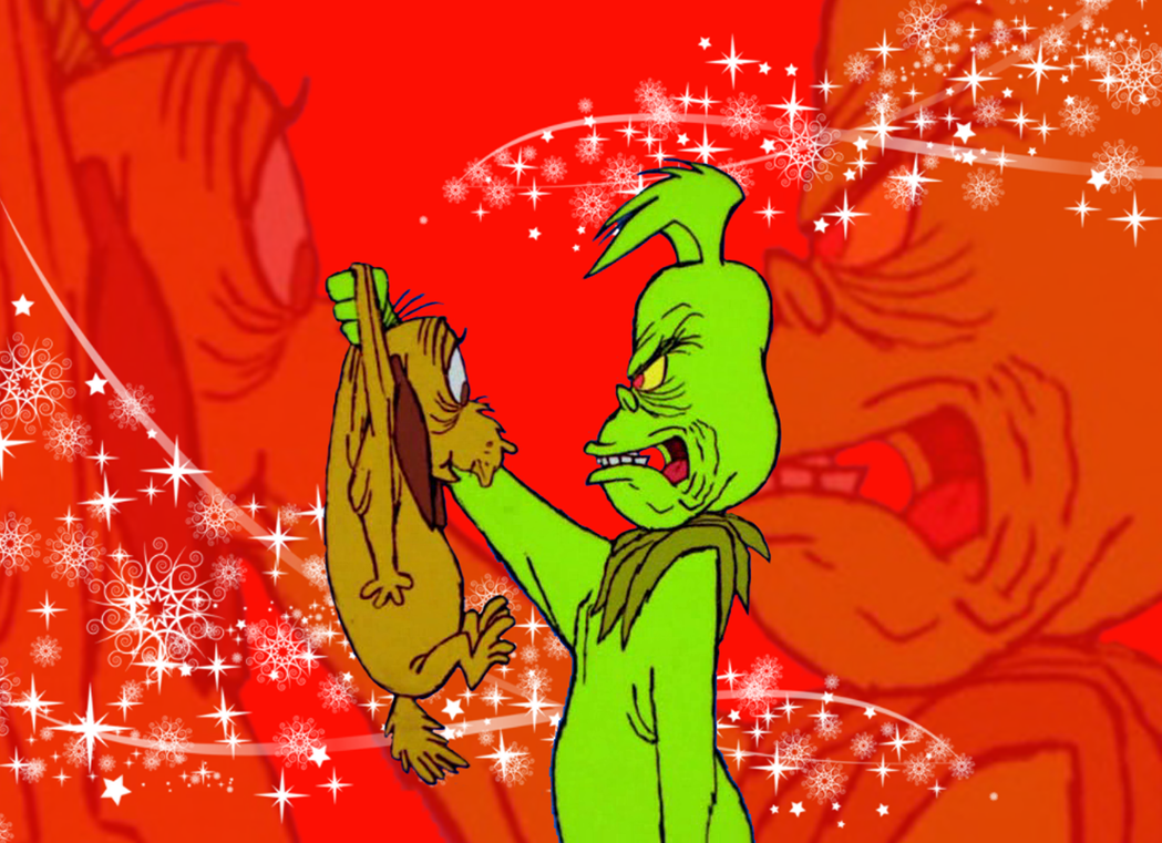 Grinch and Max by Richard67915