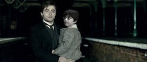 Daniel holds Harry