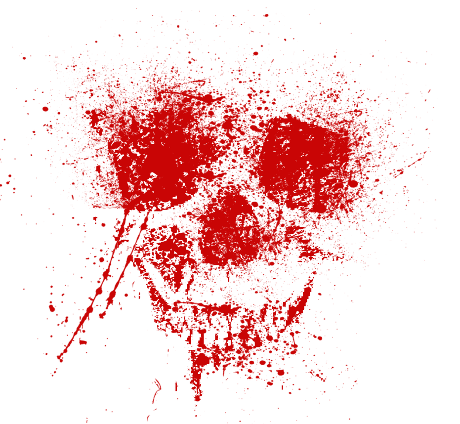 Blood Splatter Painting Artist