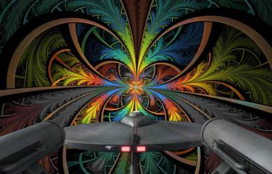 Enterprise enters Psychedelic Universe by Richard67915