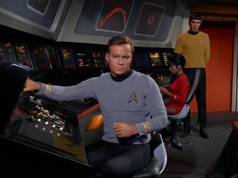 Kirk Spock alternate ranks
