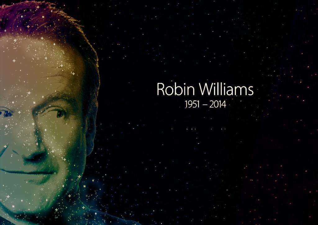 Robin Williams Memorial by Richard67915 on DeviantArt